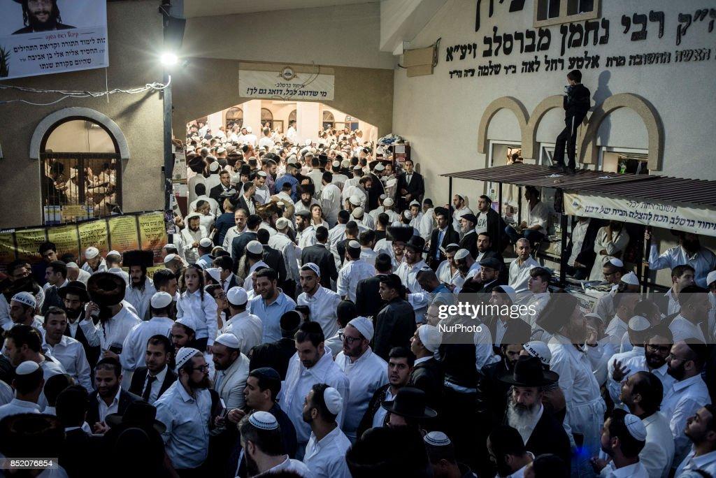 Jewish New Year in Uman : News Photo