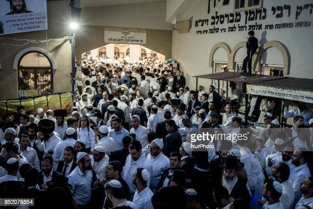 Over 40000 pilgrims from 12 countries have arrived in Uman Ukraine to celebrate the Jewish New Year September 2022 2017 Followers of the Breslov...