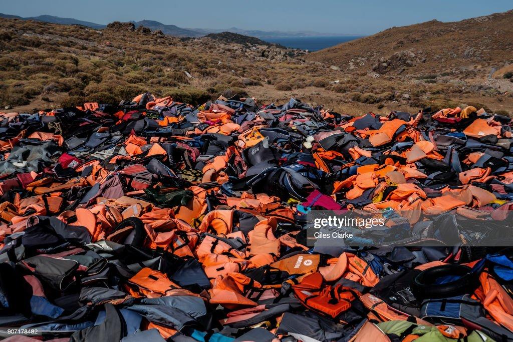 Lesbos Refugee Crisis: Kara Tepe Open Accommodation Site : News Photo