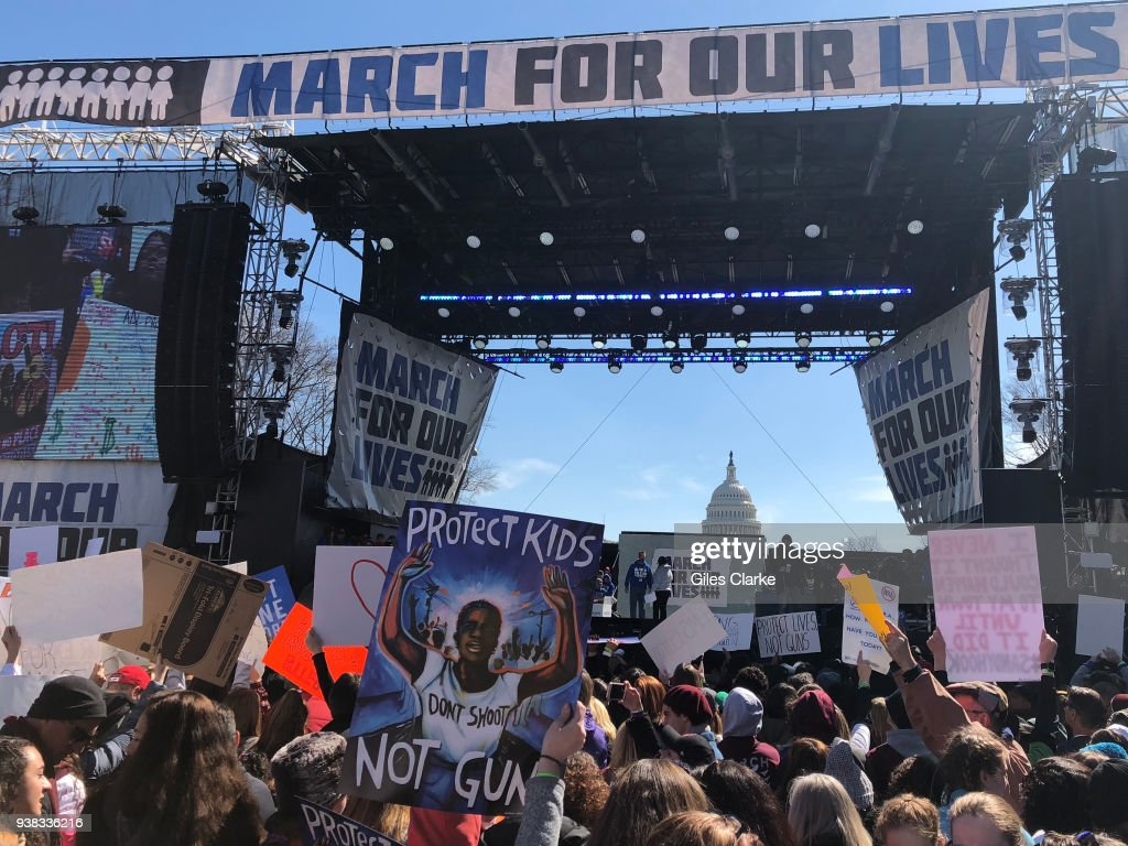 March for Our Lives in Washington : ニュース写真
