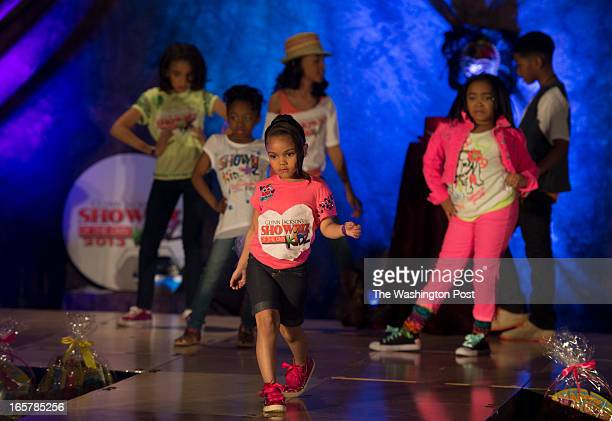 Over a dozen children showcase their talents in the 3rd Annual Glynn Jackson's Show Biz Kidz at The Silver Spring Civic Building in Silver Spring...