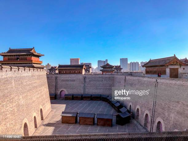 Over looking Yongning Gate over The wall at Datong