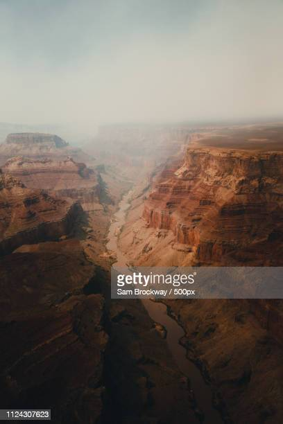 over the canyon - eroded stock pictures, royalty-free photos & images
