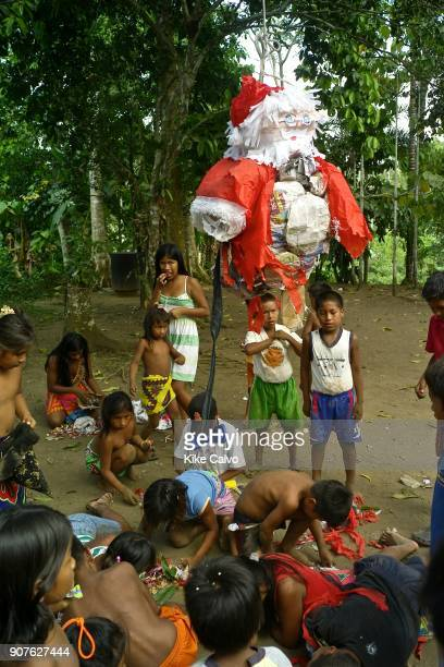 Over the last quartercentury a few Embera families pushed further North of Darien settling in the jungles bordering the Ipeti River a scant twohour...