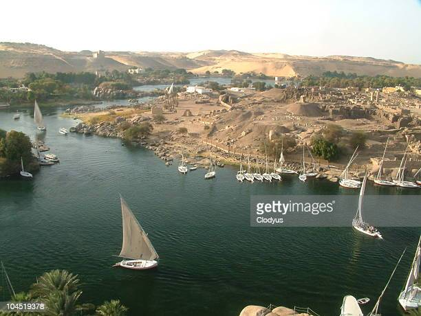 Over the Nile, Aswan