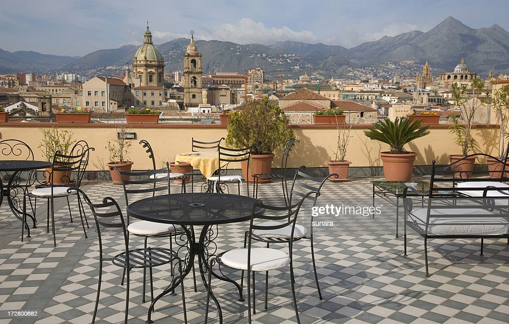 Over the rooftops of Palermo : Stock Photo