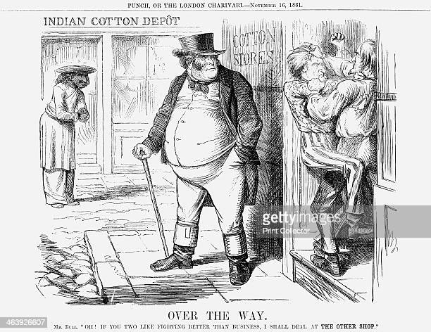 'Over the Way' 1861 At the time the American Civil War began Britain imported the bulk of its cotton from the United States President Lincoln's...