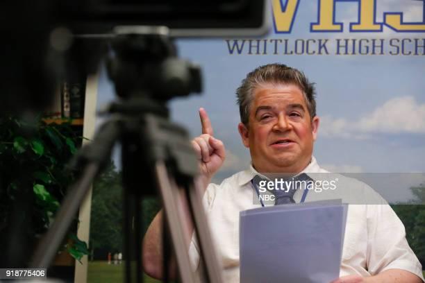 AP BIO 'Overachieving Virgins' Episode 107 Pictured Patton Oswalt as Principal Durbin