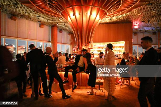 Overall scene at the Boom Boom Afterparty for the Met Gala at the Top of the Standard on May 8 2018 in New York New York
