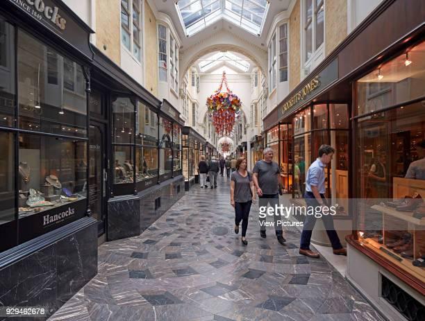 Overall view inside arcade Burlington Arcade London United Kingdom Architect n/a 1819