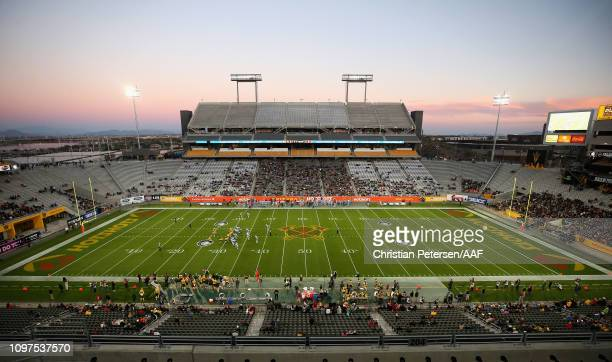 Image result for pictures of AZ Hotshots first game at sun devil stadium