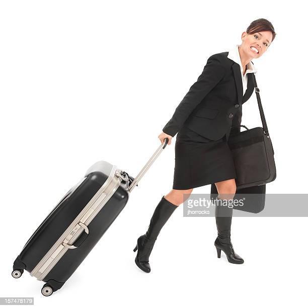 Overburdened Business Traveler