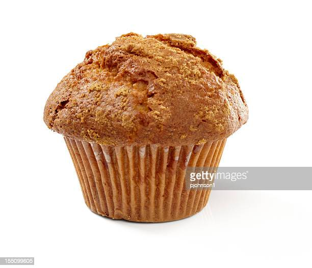 Overcooked cinnamon and sugar muffin