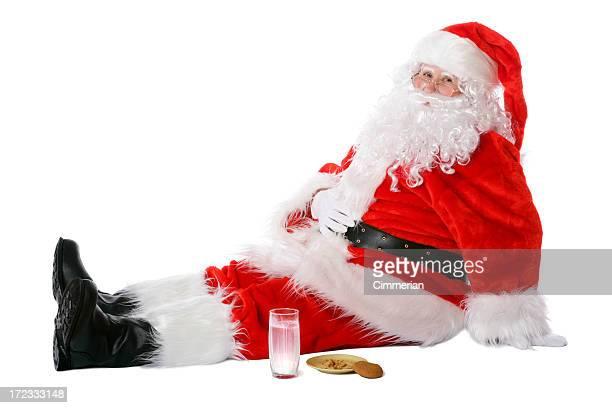 Overeaten Santa (em branco