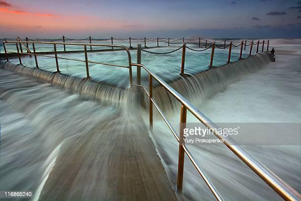 Overflow - Mona Vale Tidal Pool, Sydney