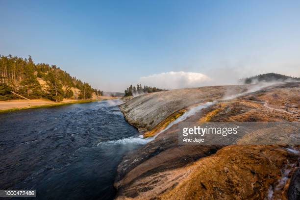 Overflow to the Firehole River