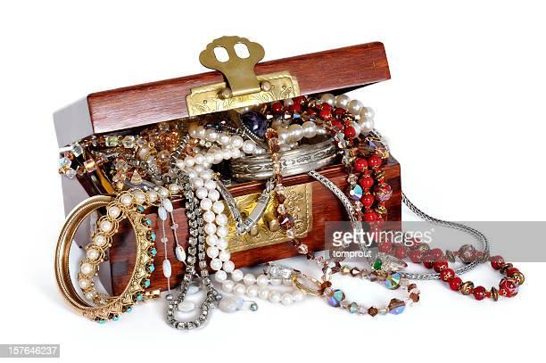 Débordant boîte à bijoux