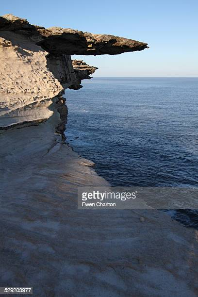 overhang - rock overhang stock photos and pictures