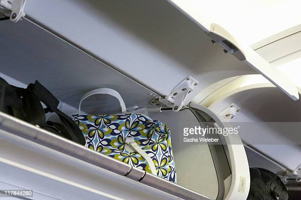 Overhead bins in Airplane