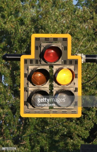 Overhead Roadway Traffic Light