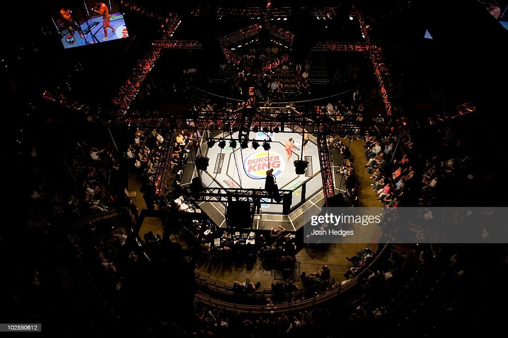 Overhead view during The Ultimate Fighter 9 Finale at The Pearl at the Palms on June 20, 2009 in Las Vegas, Nevada.