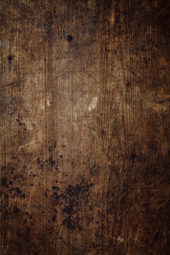 Overhead view of a worn wooden background 956436614