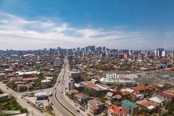 Overhead view of Batumi city