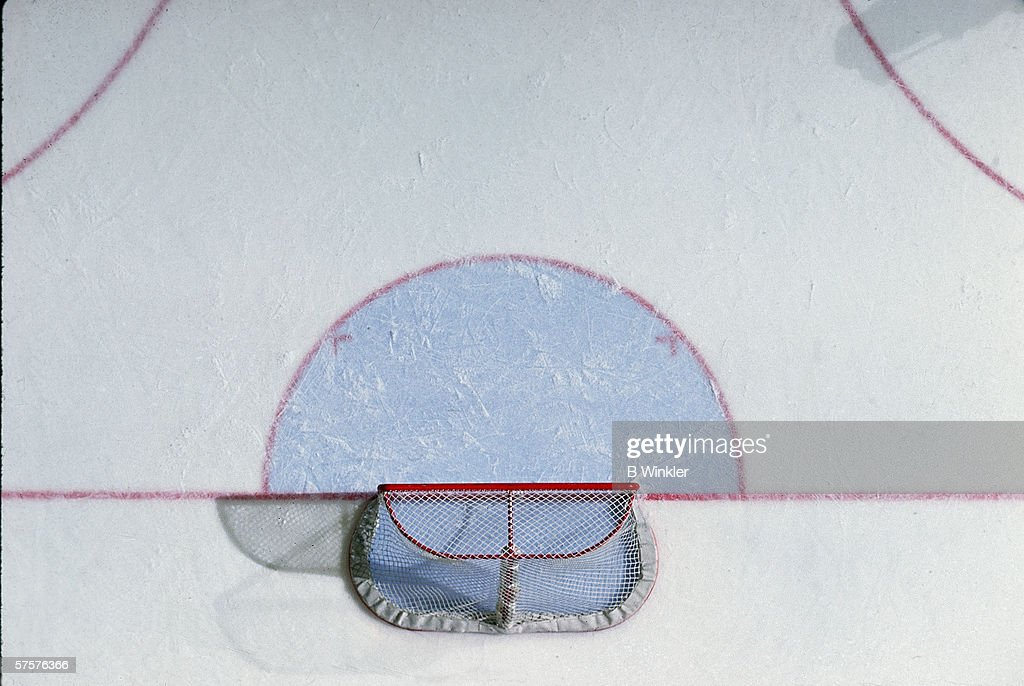 View Of Goal From Above : News Photo