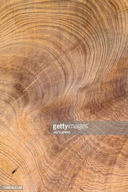 overhead view of old dark brown wood - wood material stock pictures, royalty-free photos & images