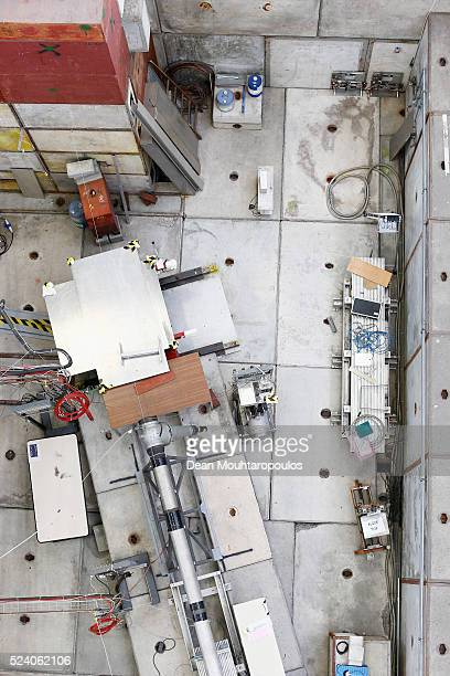 A overhead view of the four beam lines T8 T9 T10 and T11 as well as the Cosmics Leaving Outdoor Droplets or CLOUD experiment being run at CERN in The...