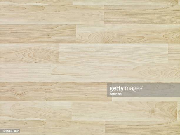 Overhead view of wooden floor