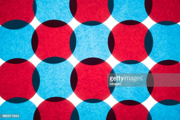 Overlapping Circle Paper Pattern