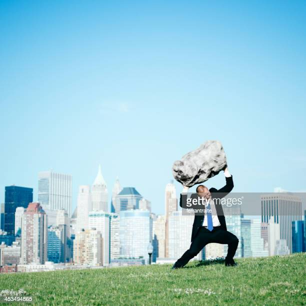 overloaded businessman - boulder county stock pictures, royalty-free photos & images