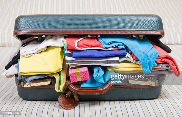 overloaded luggage - excess stock photos and pictures