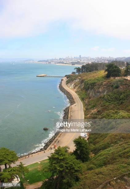 Overlook along coast of San Francisco