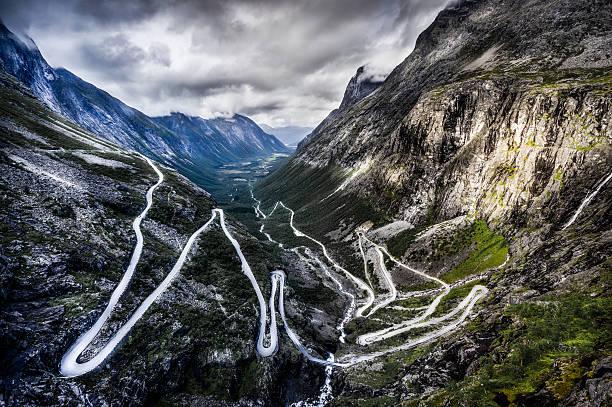 Overlook Of Trollstigen, Norway Wall Art