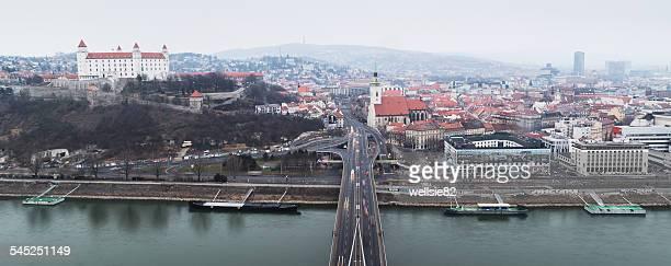 Overlooking Bratislava