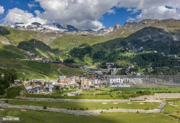 Overlooking Breuil-Cervinia, Valle d'Aosta, Italy
