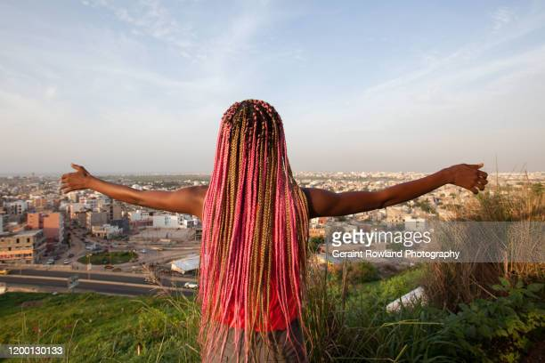 overlooking dakar - international womens day stock pictures, royalty-free photos & images