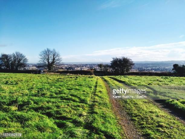 overlooking exeter - farm stock pictures, royalty-free photos & images