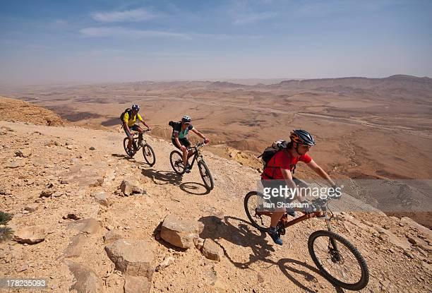 Overlooking Makhtesh Ramon