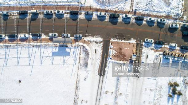 Overlooking Putian Road after hevey snow, North Shenyang City, Liaoning Province, China, January 9, 2020. - PHOTOGRAPH BY Costfoto / Barcroft Media