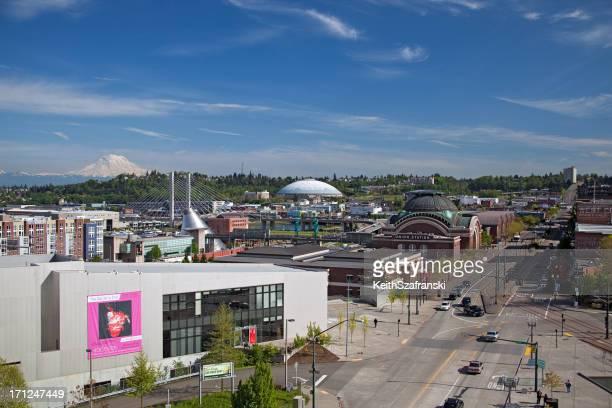 Overlooking Tacoma, Washington