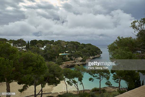 Overlooking the beach of Cala d'Or