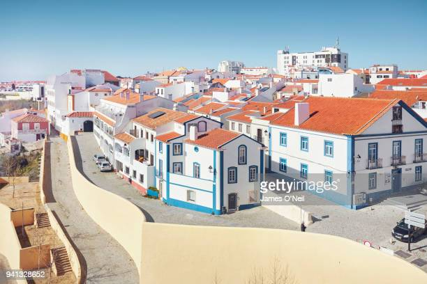 Overlooking the coastal city of Sines, Alentejo, Portugal