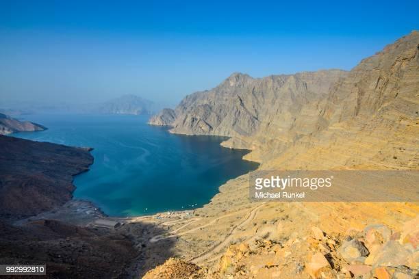 Overlooking the Khor Najd Fjord, Musandam, Oman