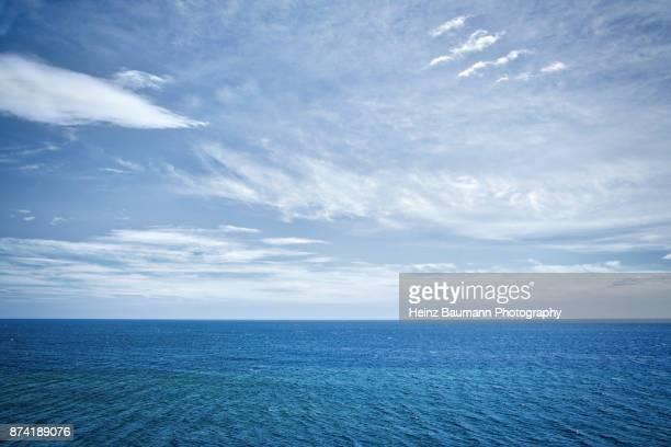 Overlooking the sea in Monemvasia, Peloponnese, Greece