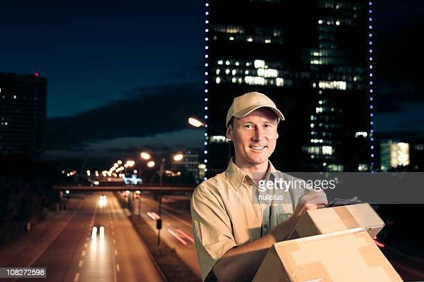 overnight parcel delivery (series)