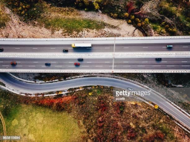 Overpass highway