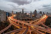 Overpass in Shanghai, China